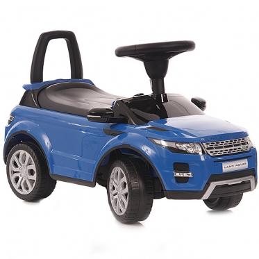 """Mašinėlė - paspirtukas """"Land Rover"""" (mėlynas)"""
