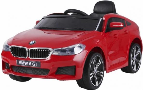 """Elektrinis vaikiškas automobilis """"BMW 6 GT"""" (raudonas)"""