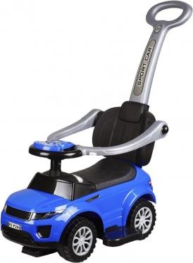 """Mašinėlė - paspirtukas su rankenėle """"Sport Car"""" (mėlyna)"""