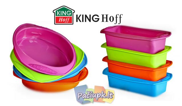 """""""King Hoff"""" silikoninė kepimo forma (galimi modelių ir spalvų pasirinkimai)"""