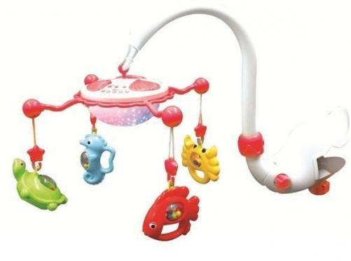 """Žaislų karuselė kūdikiams """"Jūros gyvūnai"""""""