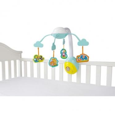 """Žaislų karuselė kūdikiams """"Bright Starts Safari"""", 36 x 16 x 53 cm"""