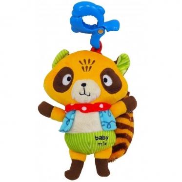 """Pakabinamas pliušinis žaislas """"Baby Mix Meškėnas"""",  20 cm"""