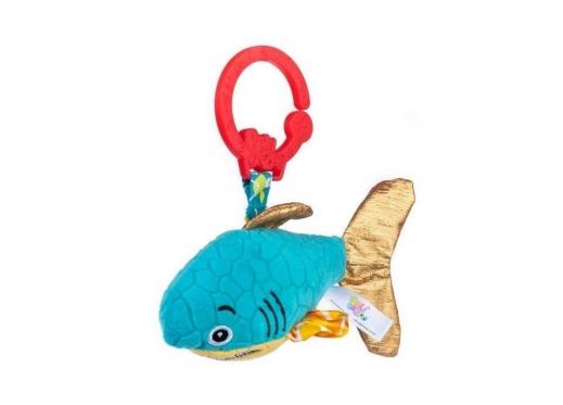 """Pakabinamas pliušinis žaislas """"Dumel Ryklys"""",  18 cm"""