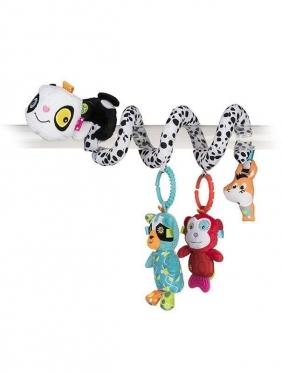 """Spyruoklinis pliušinis žaislas """"Panda"""""""