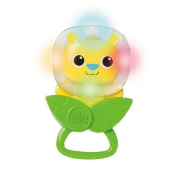 """Barškutis - kramtukas kūdikiams """"Bright Starts Gėlytė"""", 14 cm"""