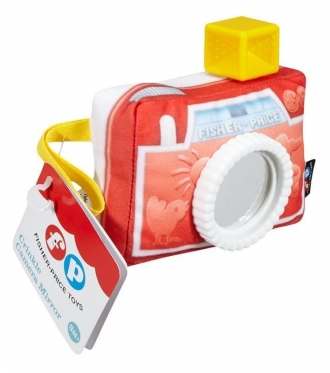 """Interaktyvus žaislas vaikams """"Fisher Price Fotoaparatas"""", 11,9 × 14 cm"""