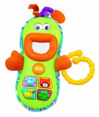 """Interaktyvus žaislas """"Linksmas telefonas"""""""
