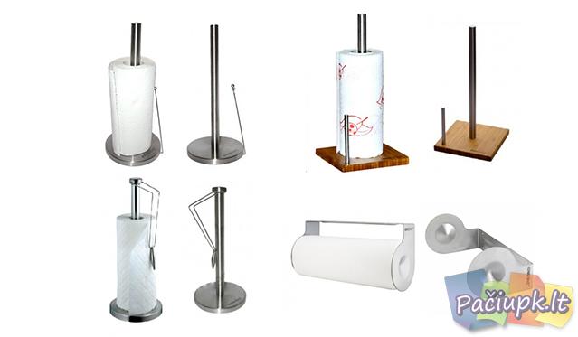 """""""King Hoff"""" popierinių rankšluosčių laikiklis (galimi modelių pasirinkimai)"""