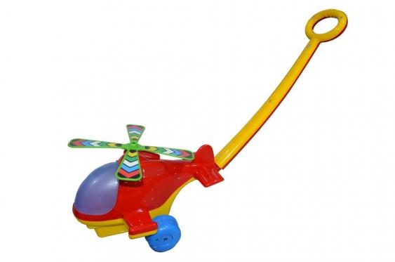 """Žaislas """"Sraigtasparnis su rankenėle"""""""