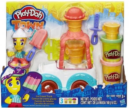 """""""Hasbro"""" rinkinys """"Play-Doh Ledų furgonėlis"""""""