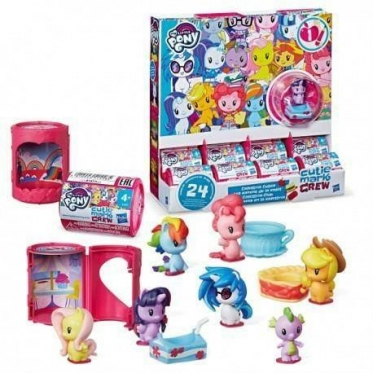 """Hasbro"" ponio figūrėlė ""My Little Pony Cutie Mark Crew"", 4,5 cm"