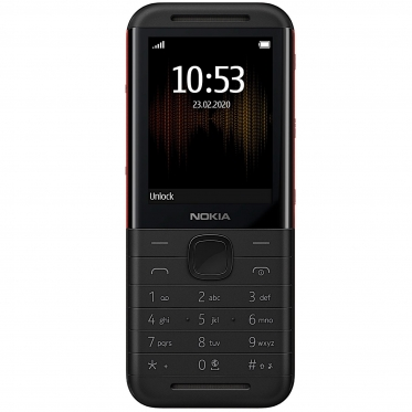 Mobilusis telefonas Nokia 5310 Dual black/red