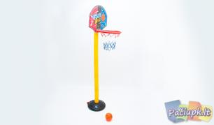 Vaikiškas krepšinio stovas su priedais
