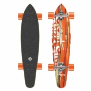 Riedlentė Street Surfing Kicktail - Damaged Orange 36 Longboard