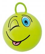 """Pripučiamas šokinėjimo kamuolys """"Gram Funny Face"""" žalias"""