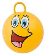 """Pripučiamas šokinėjimo kamuolys """"Gram Funny Face"""" geltonas"""
