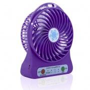 Mini USB ventiliatorius violetinis