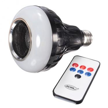 """""""Bluetooth"""" garsiakalbis su integruota LED lempute ir nuotolinio valdymo pulteliu"""
