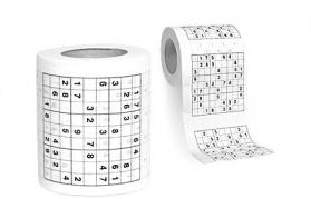 """Tualetinis popierius """"Sudoku"""""""