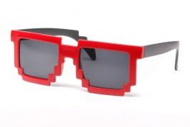 """Akiniai nuo saulės """"Pixel"""" (raudoni)"""