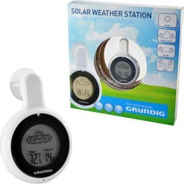 """Saulės energija įkraunama namų meteorologinė stotelė """"Grundig"""""""