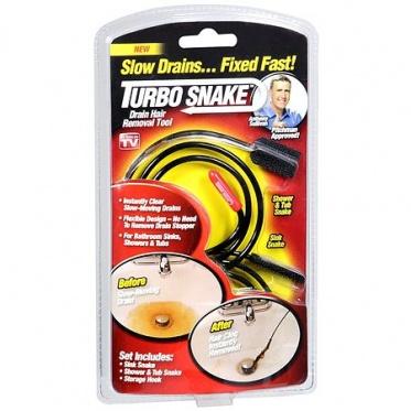 """Iš vamzdyno plaukus pašalinanti priemonė """"Turbo snake"""""""