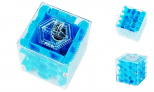 Pinigų labirintas - galvosūkis (mėlynas)
