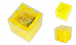 Pinigų labirintas - galvosūkis (geltonas)