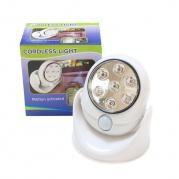 Mini LED šviestuvas su judesio davikliu