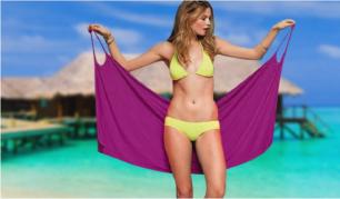 Paplūdimio suknelė - rankšluostis. Galimi spalvų pasirinkimai!