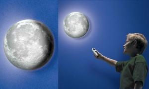 Mėnulio formos lempa
